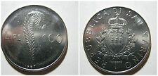 Repubblica di SAN MARINO 100 Lire 1987 unc/fdc da serie zecca