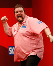 Peter Manley Darts Superstar 10x8 Photo