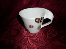 Villeroy&Boch New Wave Choc Drops Cappuccino Tasse, V&B