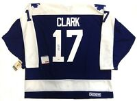WENDEL CLARK SIGNED TORONTO MAPLE LEAFS JERSEY PSA/DNA AUTHENTICATED