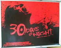 Cinema Poster: 30 DAYS OF NIGHT 2007 (Quad) Josh Hartnett Melissa George