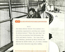 Jim Brown Three the Hard Way Original Press Photo and Release