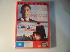 Seven Pounds / The Pursuit of Happyness , 2 DVD, 2009 - edc