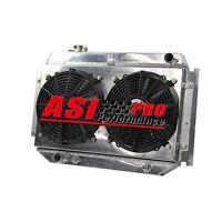 3ROWS RADIATOR +SHROUD+FANS FOR Holden HG HT HK HQ HJ HX V8 253&308 71-80 AT/MT