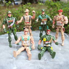 Plastik Militär Armee Polizei Soldat Action Figuren Militär Modell Spielzeug #