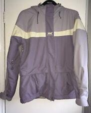 5eafbeb8722 Women s Helly Hansen Coat Size Small.Long Sleeves.hooded.Purple.waterproof.