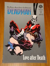 DEADMAN BOOK 1 LOVE AFTER DEATH DC COMICS MIKE BARON GRAPHIC NOVEL