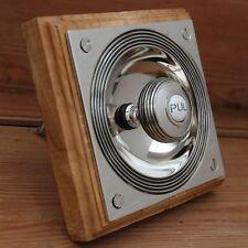 CLAVERLEY ANTIQUE NICKEL PERIOD DOORBELL PULL (ATC)