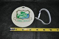 Vintage Pebble Beach Golf Bag Tag RJ Harper Golf Professional