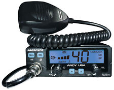 President Andy 12/24v CB Radio w/7 Color LCD Display Small Form Factor Compact