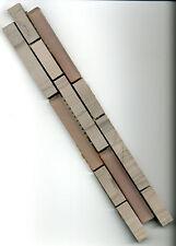 Marmor Glas Bordüre grau 5 x 30 x 0,8cm Fliese Mosaik Naturstein Bad Küche