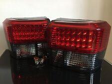 Vidrio transparente luces traseras LED para VW T4 Bus/Caja,rojo/negro,Kit,
