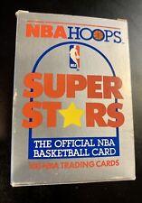 1989-1990 NBA Hoops Superstars 100 Card Set Michael Jordan +David Robinson RC