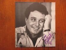 """Jerry Mathers(""""Leave It To Beaver"""") Signed 8 1/2"""" X 9 1/4"""" Black & White Photo"""