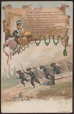 cartolina militare 16° BATTAGLIONE BERSAGLIERI CUNEO