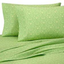 Amy Butler Sari Bloom Green Full Sheet Set 100% Organic 400 TC Floral 4PC