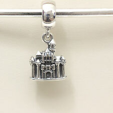 *Authentic Pandora Disney Park Sleeping Beauty Castle Disneyland Dangle Charm