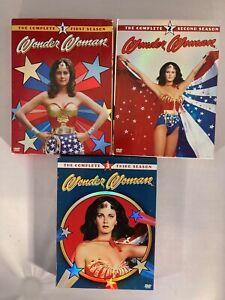 DVD BOX SET - Wonder Woman COMPLETE TV SERIES SEASONS 1,2,3