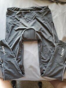 "Baleaf Women's Padded Cycling Pants Black Size XL(30""WX28""Inseam) NWT"