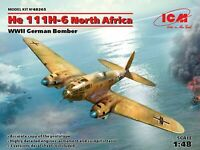 ICM 48265 - 1/48 He 111H-6 North Africa,WWII German Bomber, plastic model kit