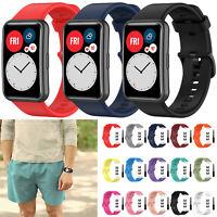 Silikon Armband Uhrenarmband Wrist Strap für Huawei Watch Fit Watch Smart Watch