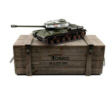 1:16 Torro Russian Is-2 Rc Tank 2.4Ghz Airsoft Metal Edition Pro Green