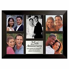 "25th Anniversary Photo Collage Frame, 10.5"" x 14.25"", Lighthouse Christian"
