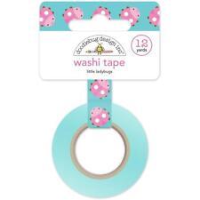 Little Ladybugs Washi Tape, 15mm x 12 yards by Doodlebug Designs