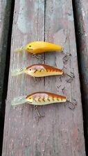 Rapala Fishing Lure Lot Of (3) Old Stock Finland Fat Rap FR-7