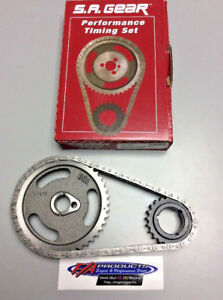 """Ford 429 460 1972 To 1987 V8 Engines .250"""" Roller Timing Set S.A. GEAR 78130"""
