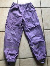 pantalon neuf de ski , pluie , imperméable enfant fille 6/8 ans