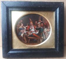 attr. JACOB JORDAENS 1593-1678 17th CENTURY OIL PAINTING BEAN KING DRINKS SIGNED