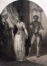 Napoléon II Duc de Reichstadt Roi de Rome Bonaparte gravure 1853 Empire France
