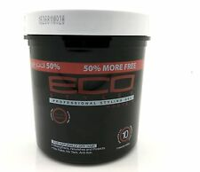 Eco Styler Professional Styling Gel Protein Black Alcohol Free For Dry Hair 24oz