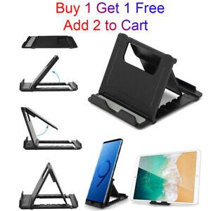 Adjustable Tablet Stand Desktop Holder Cell Phone Mount For iPhone 12 11 Samsung