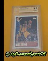 1996 Topps Kobe Bryant ROOKIE #138 BGS Quad 9.5 's TRUE GEM MINT PSA HOF 💎