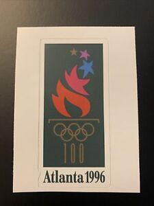 "1996 Summer Olympic Games Atlanta Sticker 1.8"" x 3.7"""