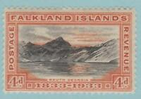 Falkland Islands 70 Mint Hinged OG * - No Faults Very Fine