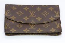 Vintage Louis Vuitton LV Brown Monogram Envelope Wallet