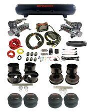 Complete GM 73-96 B-Body airmaxxx Complete Air Ride Kit 480 Chrome Compressor