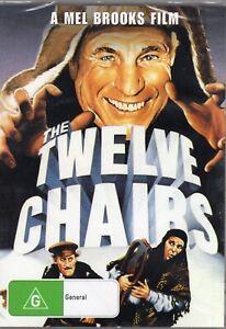 Mel Brooks THE TWELVE CHAIRS (DVD) - BRAND NEW & SEALED!!!