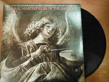 33 RPM Vinyl Domenico Scarlatti Choral Masterpieces of the Baroque MCA 022415SM