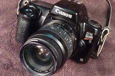 Vintage Canon EOS Rebel S II 35 mm SLR Camera w/ 35-80 mm, 1:4-5.6 Lens