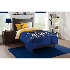 Northwest 1NHL862010021RET Twin St. Louis Blues Blanket Sham Comforter Set