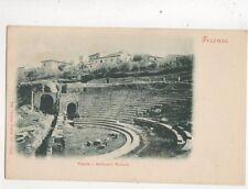 Firenze Fiesole Anfiteatro Romano Italy Vintage U/B Postcard Pineider 477b