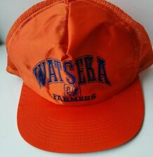 VTG Watseka FARMERS 80s Trucker Hat  Snapback foam MESH Made in the USA