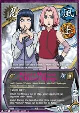 1x Sakura Haruno & Hinata Hyuga 729 Rare NM/LP Naruto CCG