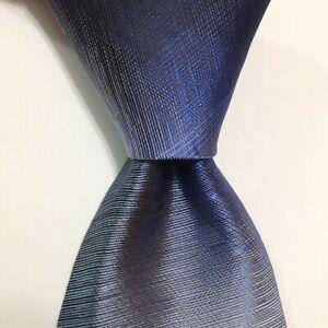 VAN HEUSEN Men's Silk/Polyester Necktie Designer Geometric Blue Skinny NWT $45