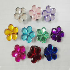 50pcs Crystal Flower PVC Shoe Charms Accessories For Children Kids  Party Gift