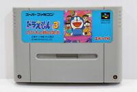 Doraemon 3 SFC Nintendo Super Famicom SNES Japan Import US Seller I6875